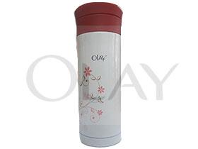 化妆品行业OLAY促销赠品定制不锈钢保温杯